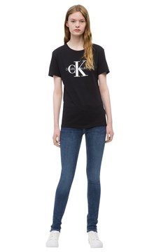 Core Monogram Tee CK BLACK 1