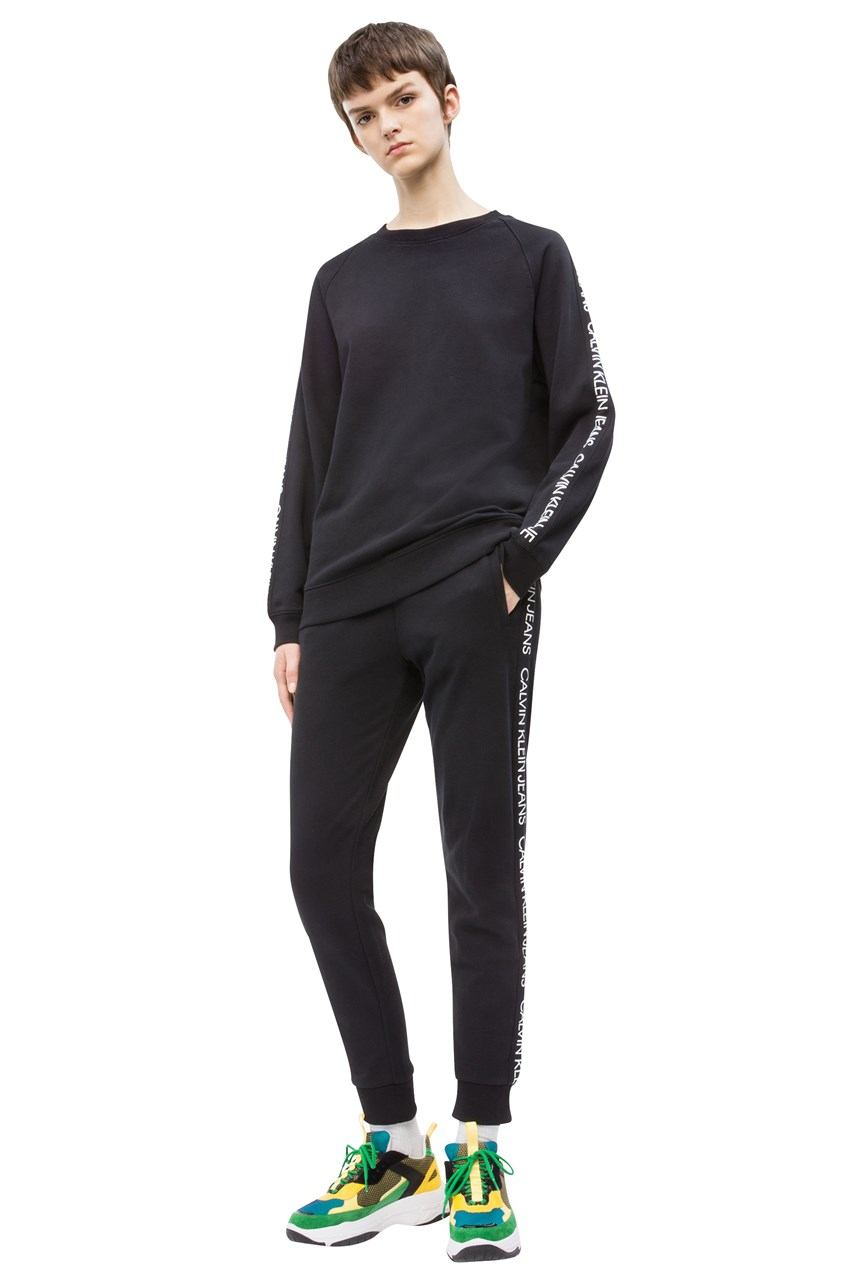 Institutional Logo Side Track Pant