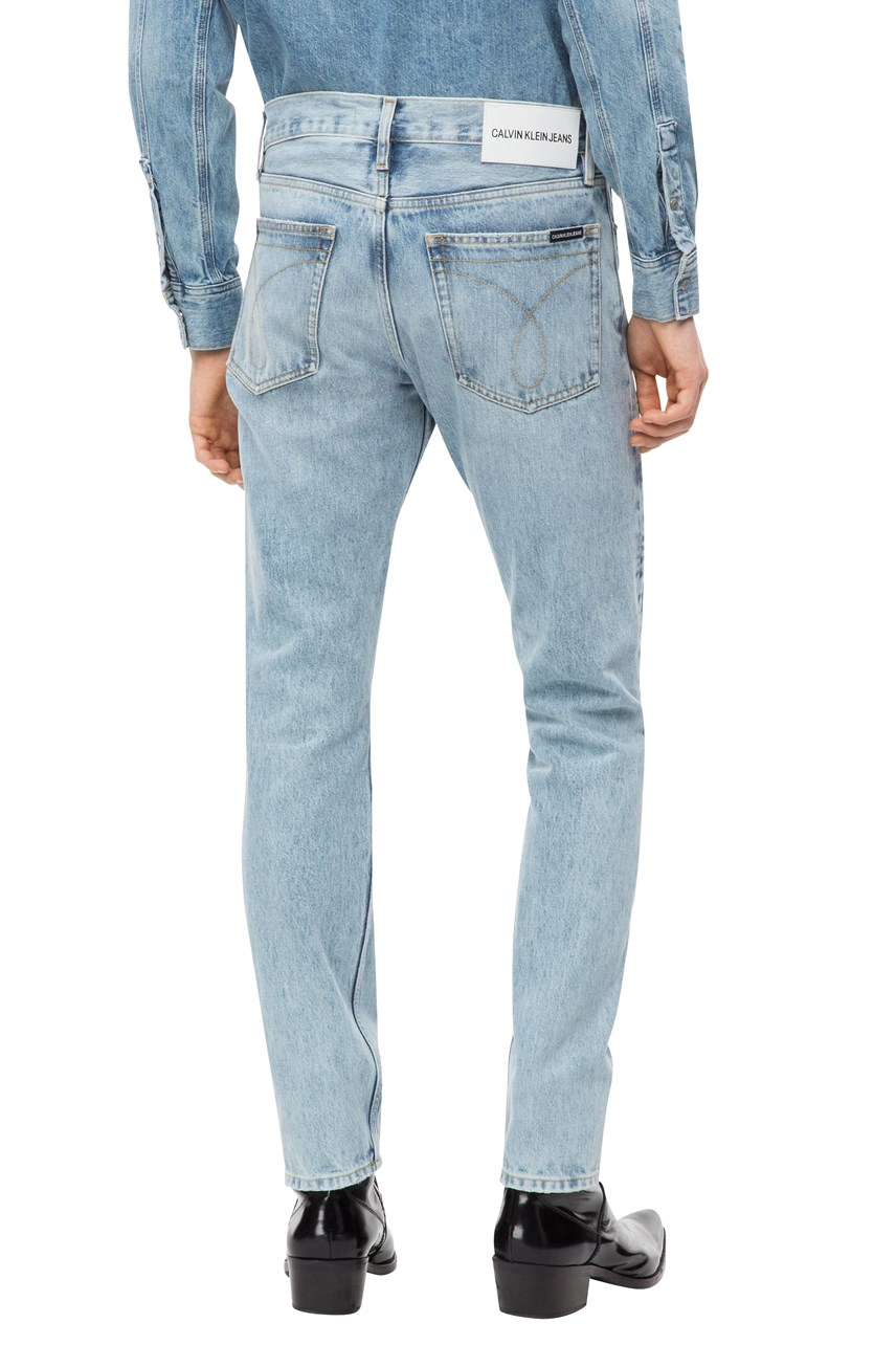 Slim Patched Jean