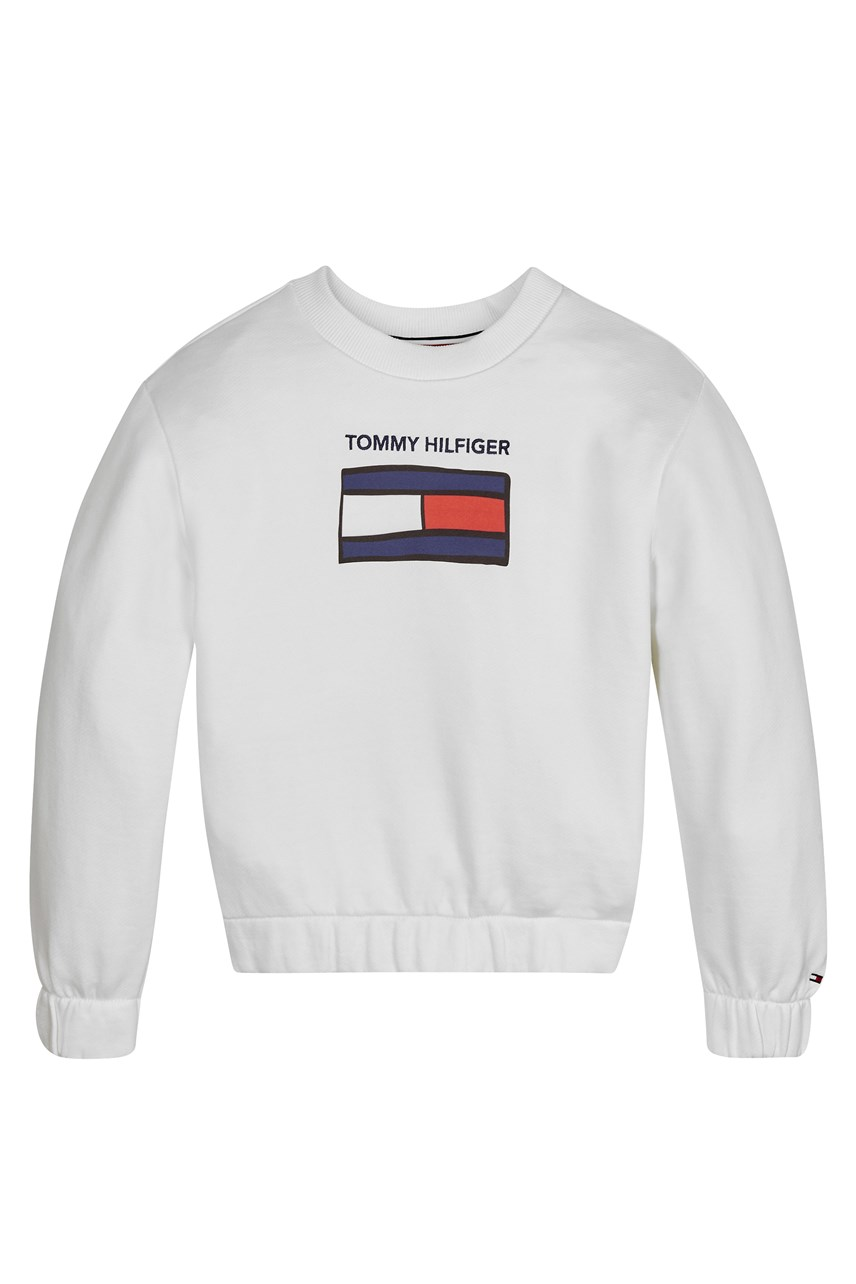 Flag Graphic Logo Sweatshirt