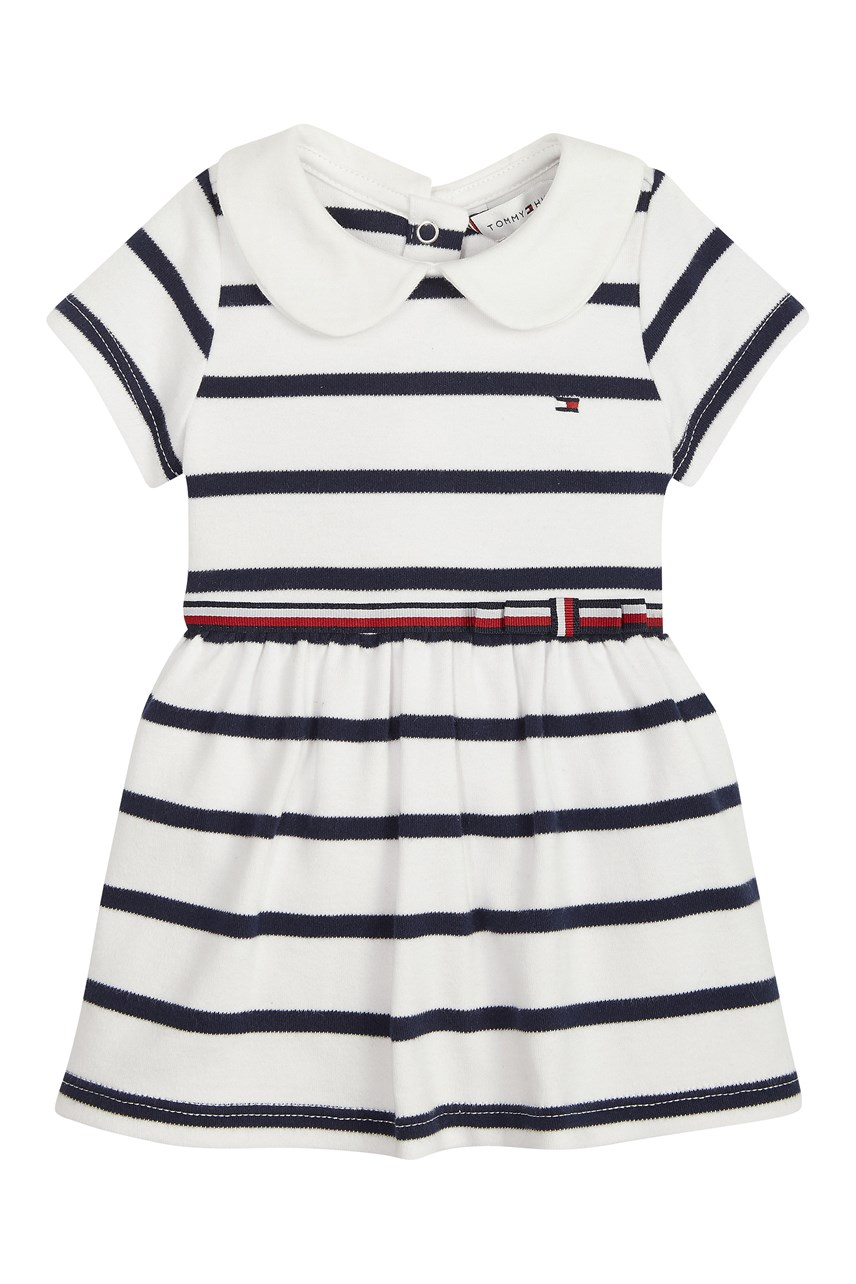 Baby Rugby Stripe Cotton Dress