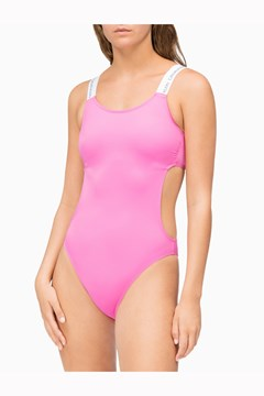 14dcd9eabed CK Logo Open Cut One Piece Swimsuit - CALVIN KLEIN - Smith ...