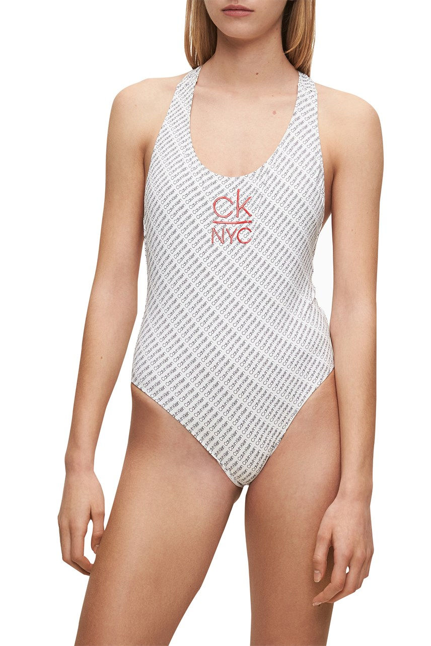 CK NYC Racer Back Swimsuit