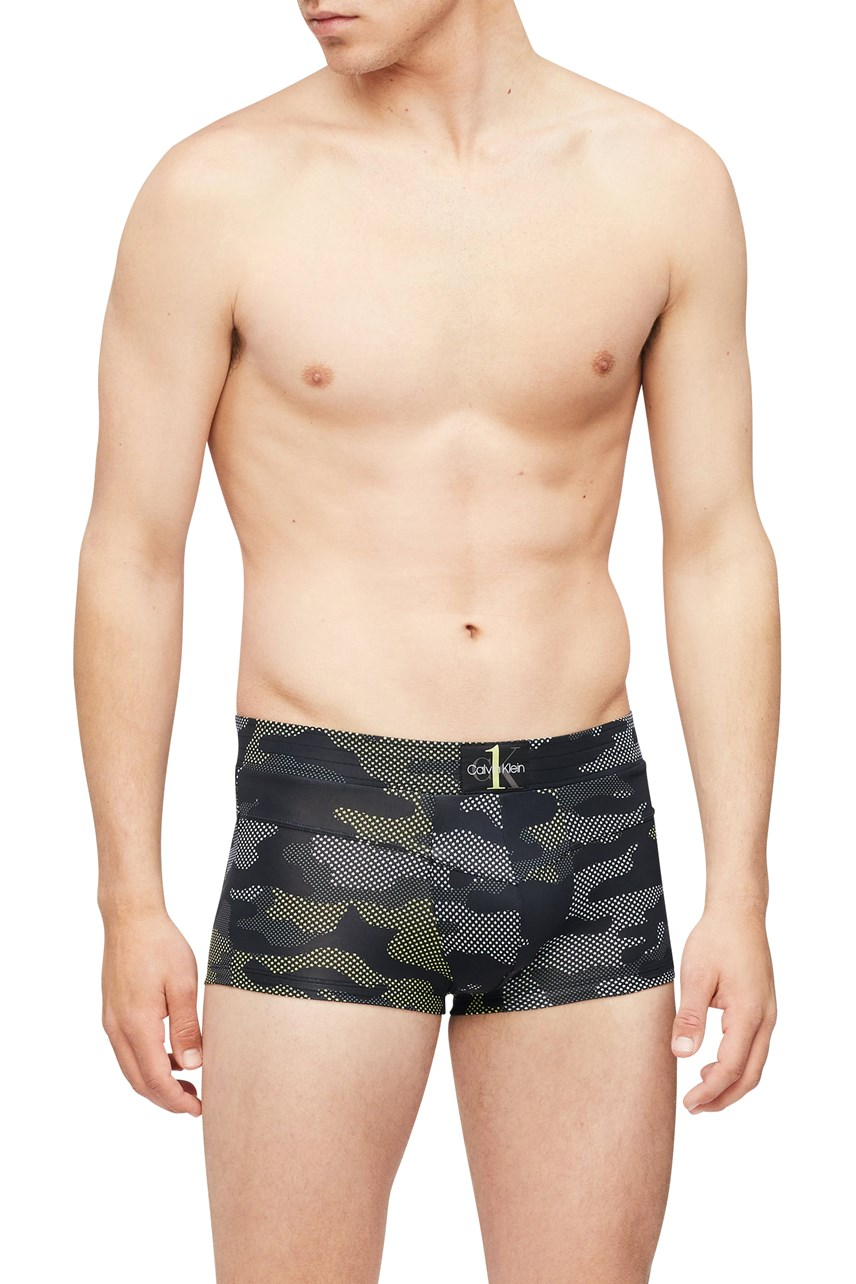 CK One Camo Low Rise Trunk