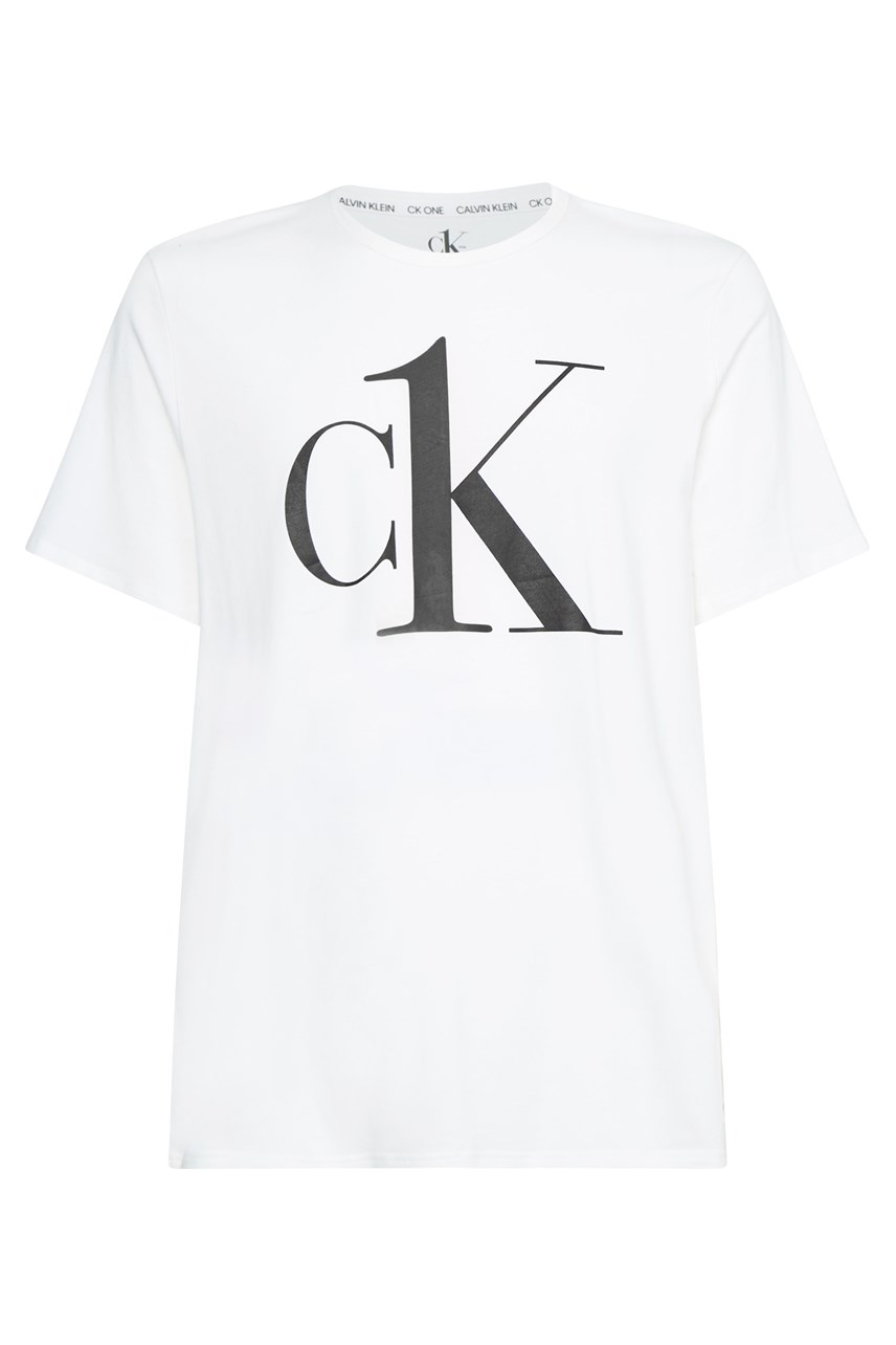 CK ONE Lounge Crew Neck Graphic T-Shirt