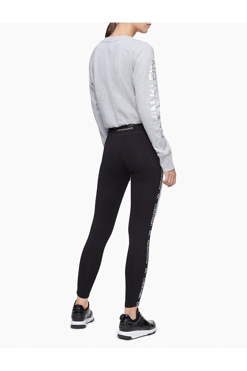 Logo Tape High Waist Leggings