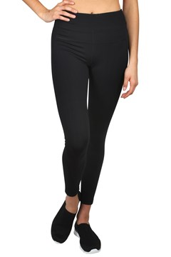 High Waist Full Length Tights BLACK 1