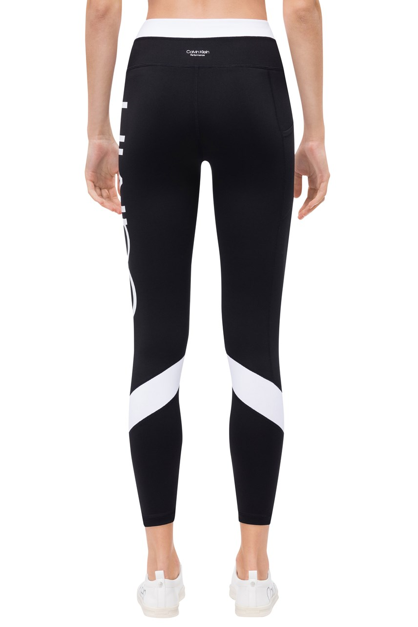 Logo Colorblock High Waist 7/8 Tights