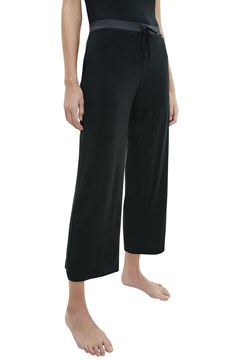 Sophisticated Lounge Modal Satin Sleep Pant - ub1 black