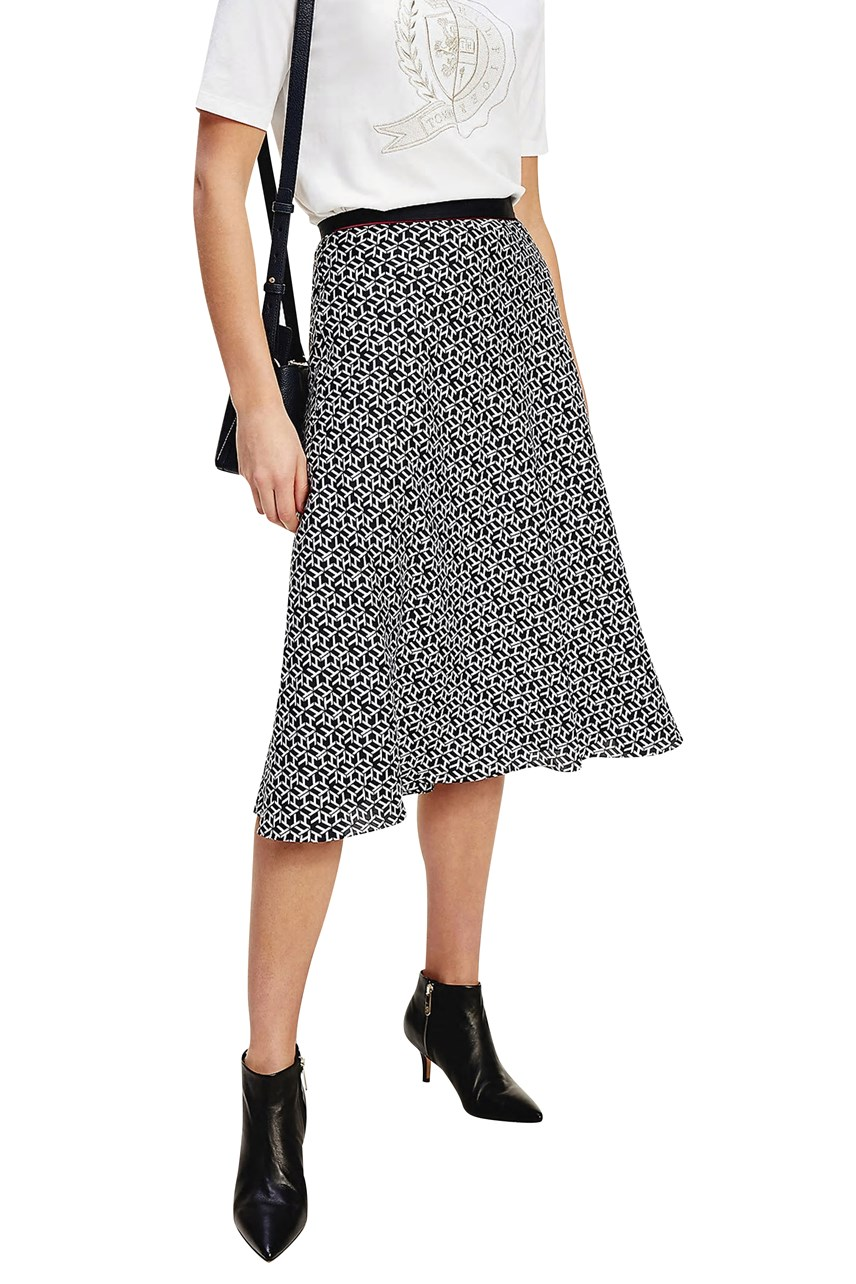 Icons Monogram Skirt