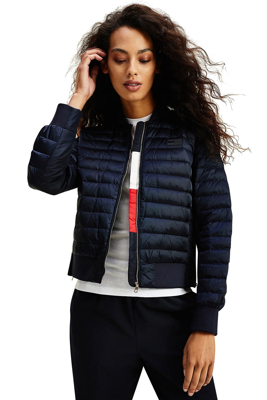 Icons Down Padded Bomber