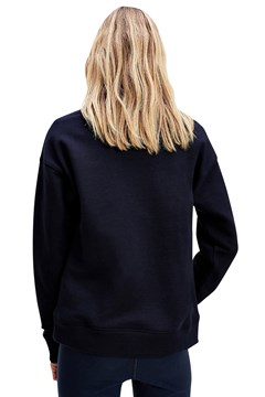 Embroidered Logo Sweatshirt - desert sky