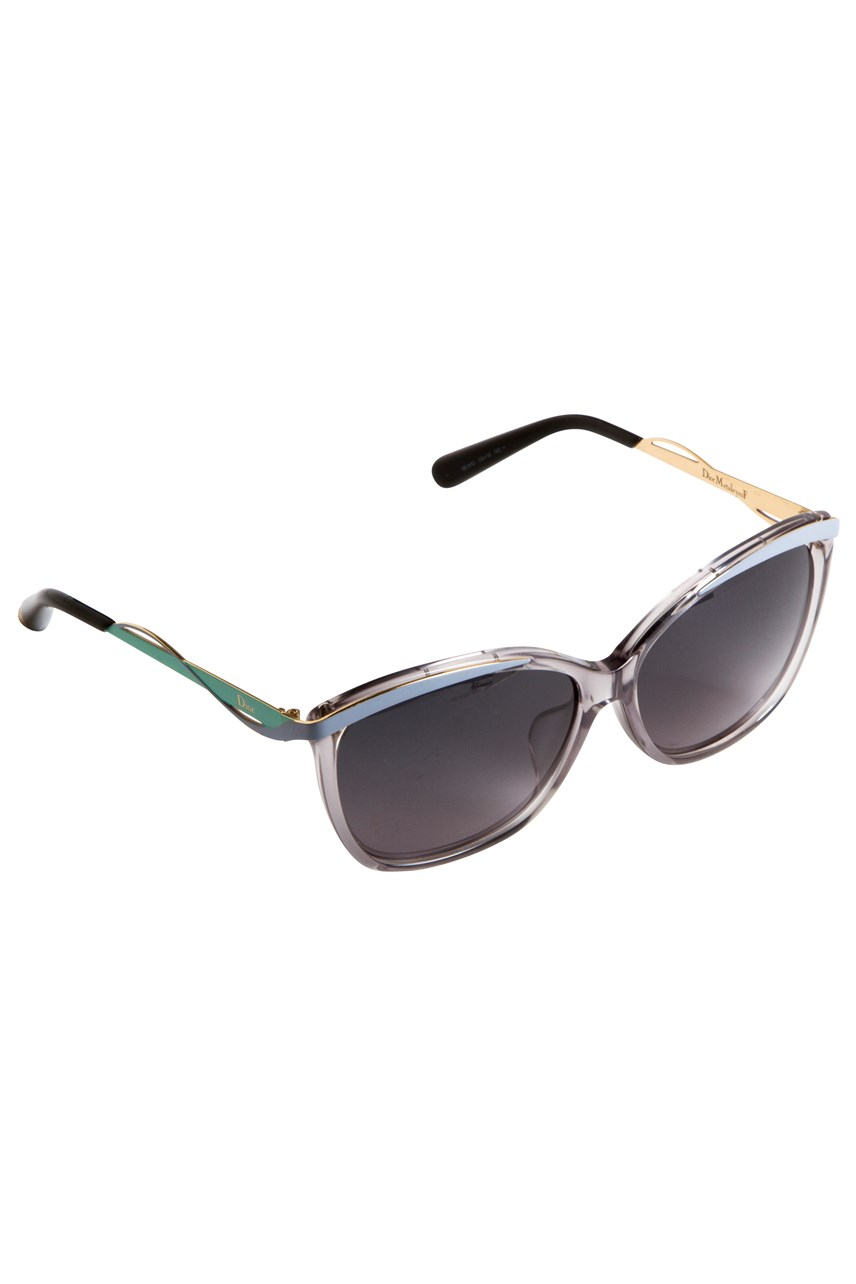 Metal Details Sunglasses