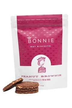 Peanut Brownie Oat Biscuits 1