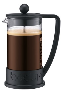 Brazil French Press Coffee Maker BLACK 1
