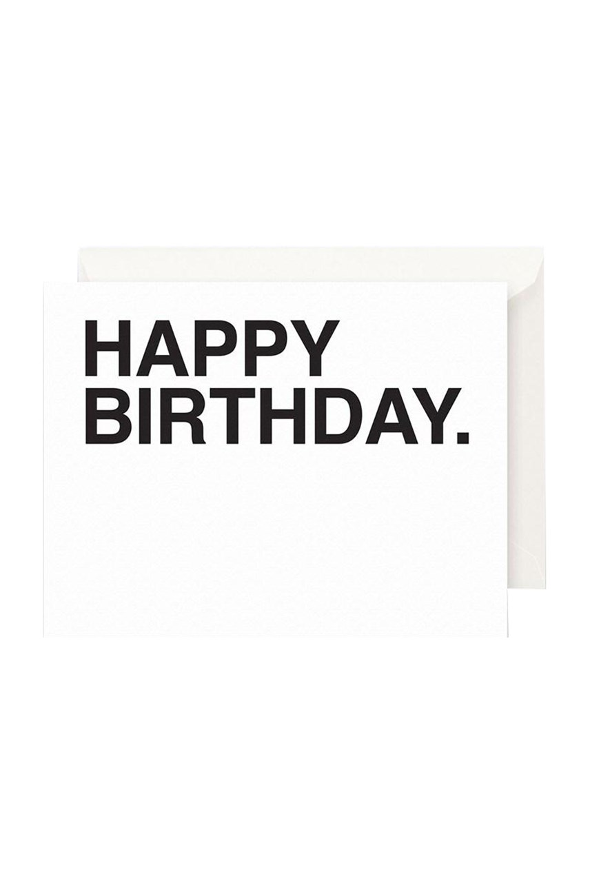 Bold Happy Birthday Card