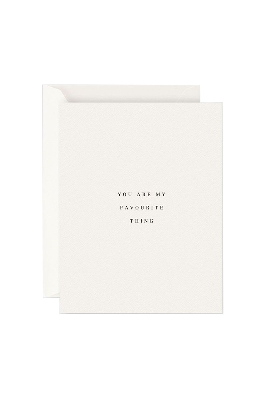 You Are My Favourite Thing Card