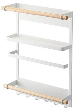 Tosca Magnet Side Rack - white