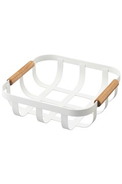 'Tosca' Kitchen Basket WHITE 1