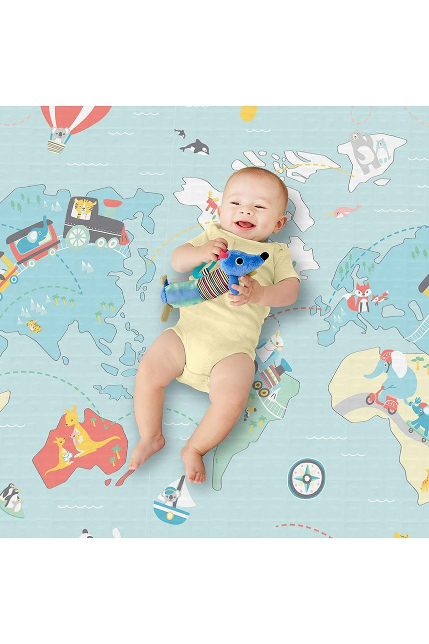 Little Travelers Doubleplay Reversible Playmat