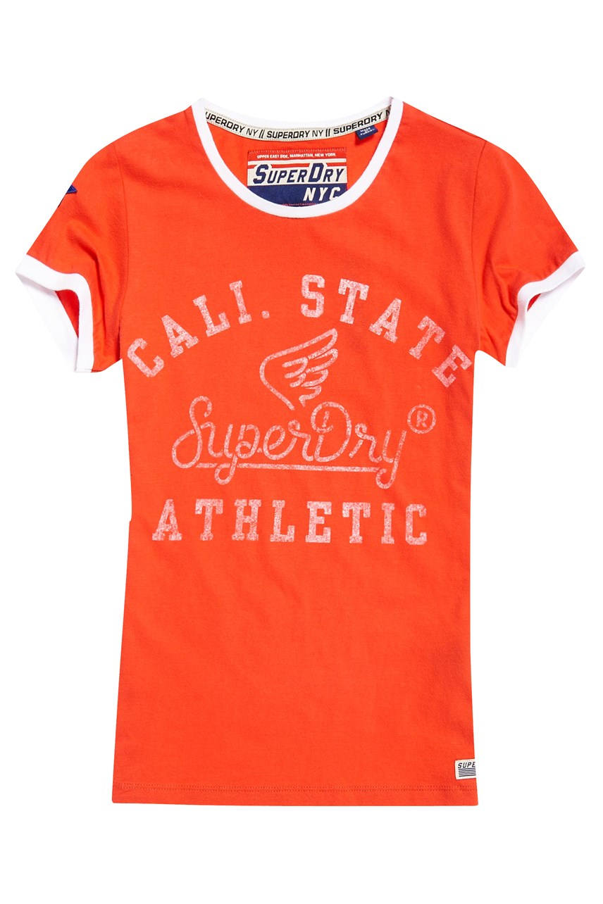 State Athletic Ringer Entry Tee