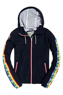 Women's Rainbow Windbreaker NAVY 1