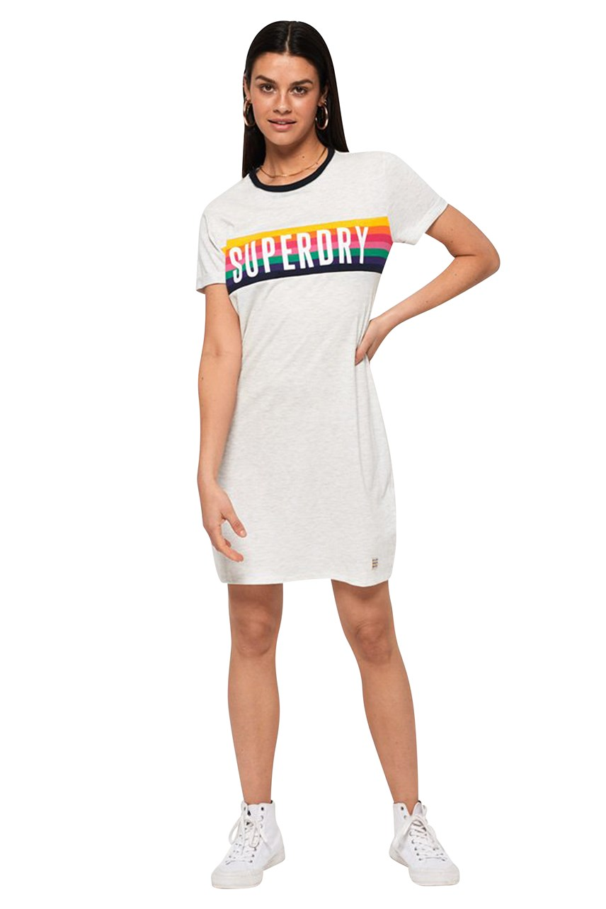 Women's Sanita Ringer T-Shirt Dress