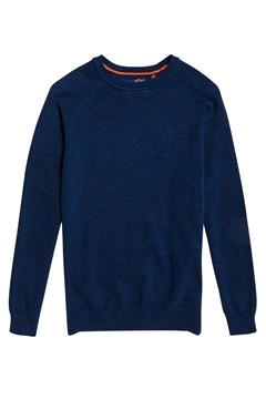 Orange Label Cotton Crew Jumper 66V OCEAN CITY BLUE 1