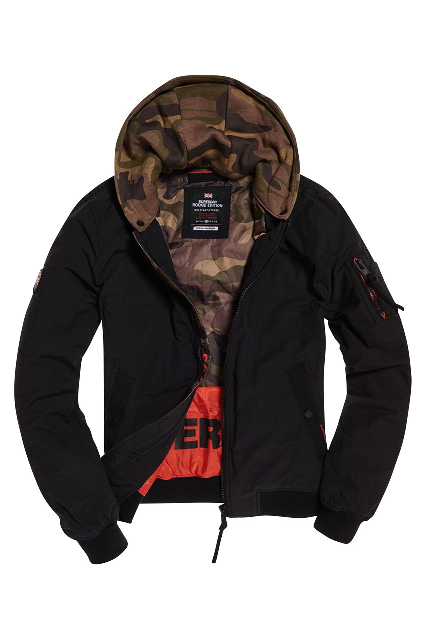 Men's Hooded Air Corps Bomber