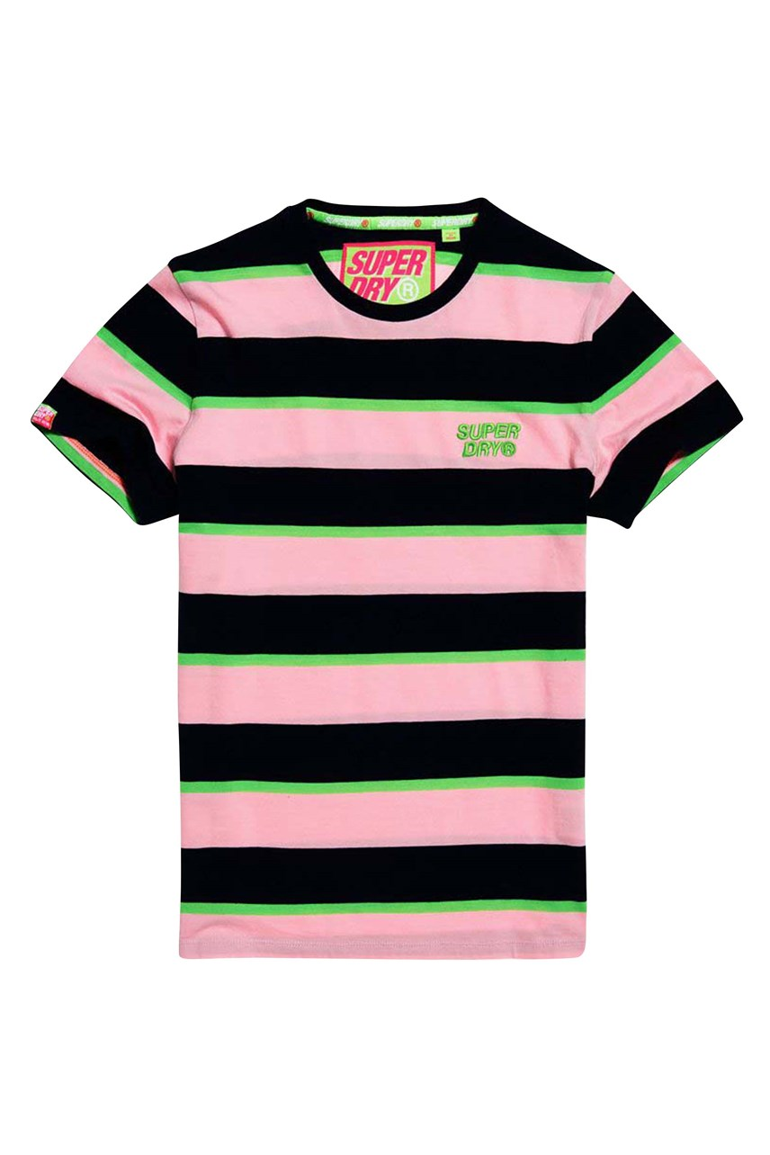 Men's Stacked Skate Lux Stripe Tee