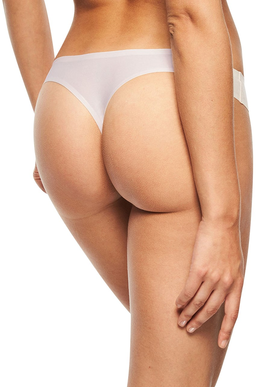 One Size Soft Stretch Seamless Thong Brief