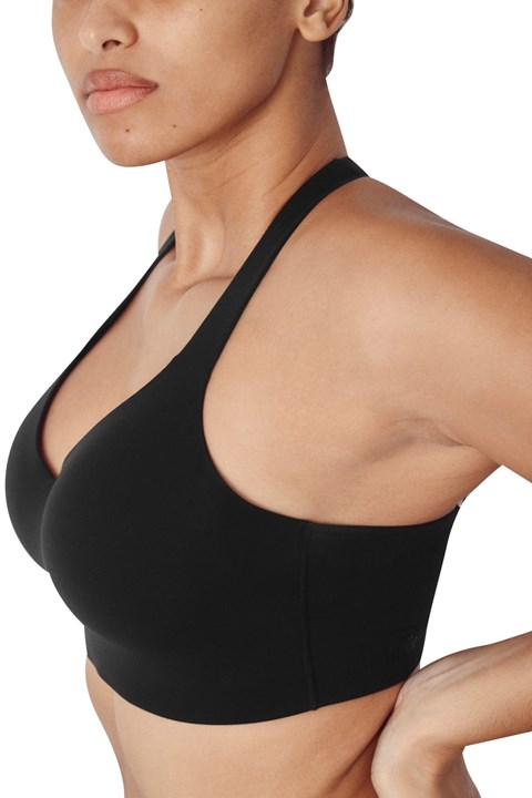 High Impact Wirefree Sports Bra - 011 black