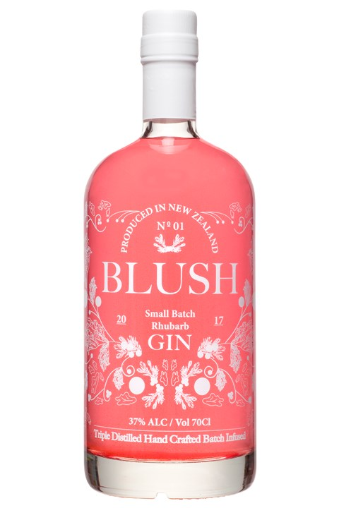 Rhubarb Infused Premium New Zealand Gin -