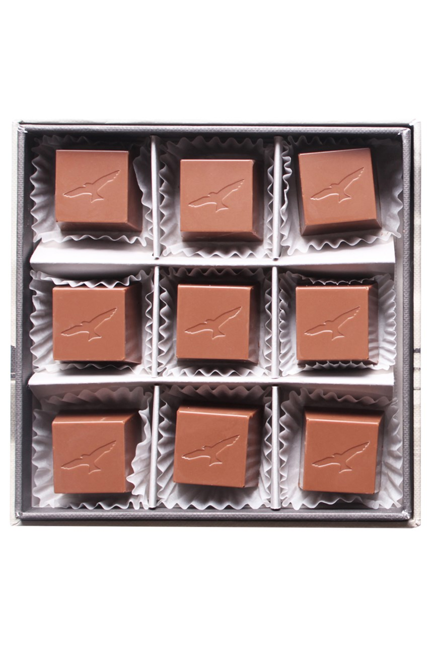 Mangawhai Sea Salt Caramels In Milk Chocolate