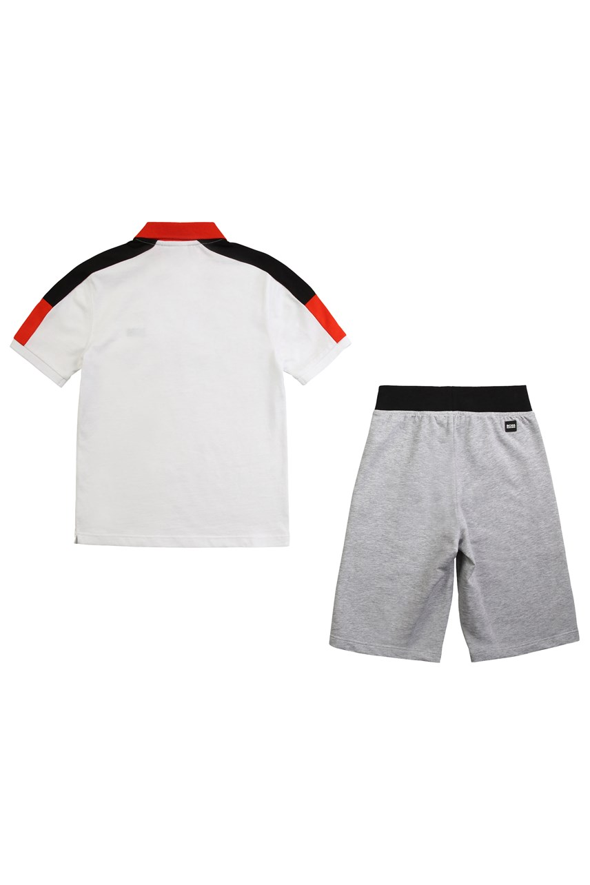 Polo And Bermuda Shorts Set