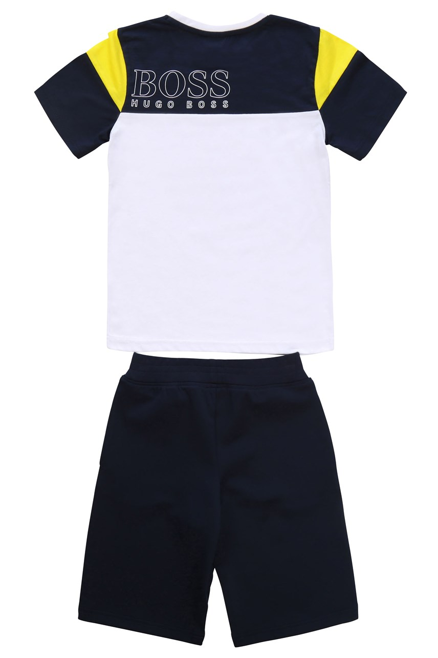 T-Shirt and Bermuda Shorts Set