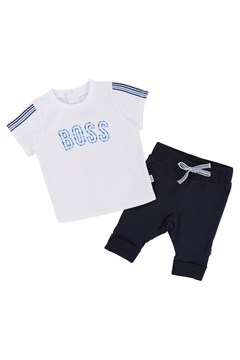 T-Shirt & Pant Set - white/navy