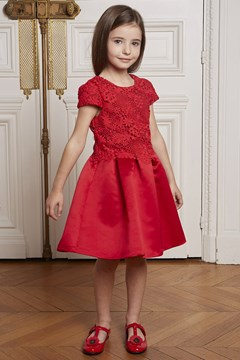 Red Lace Dress - 97g