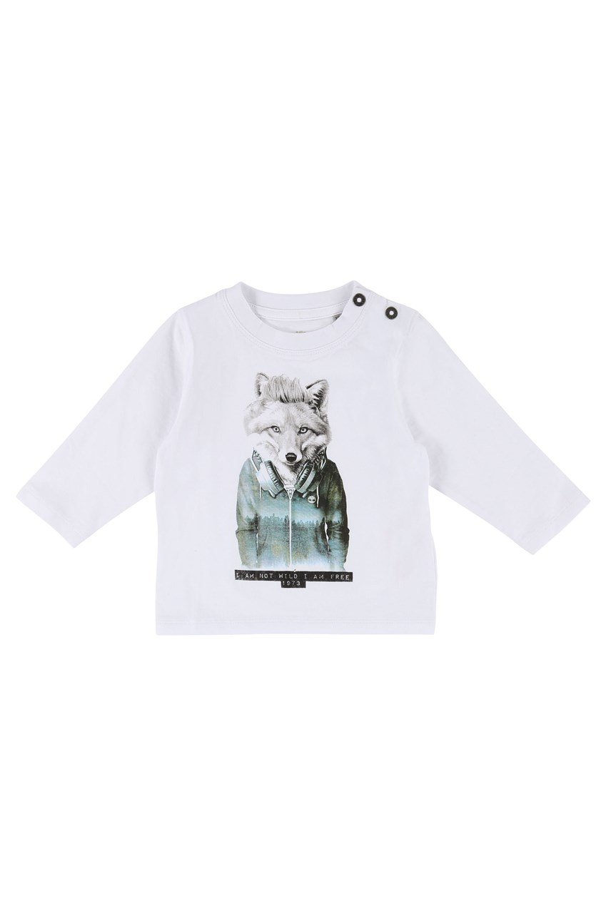 Fox Long Sleeve Tee