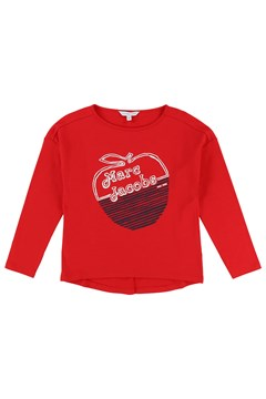 Apple Long Sleeve Tee RED 1