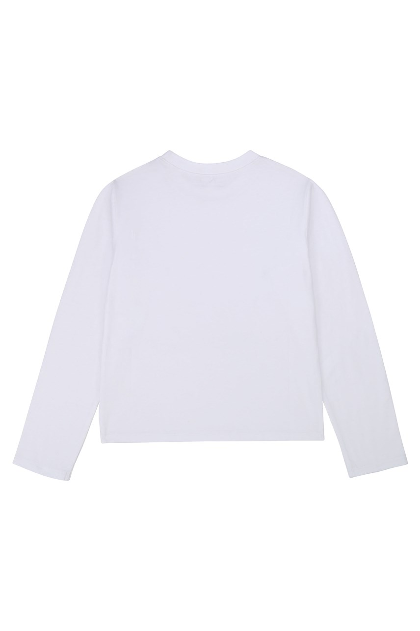 Print Front Long Sleeve T-Shirt