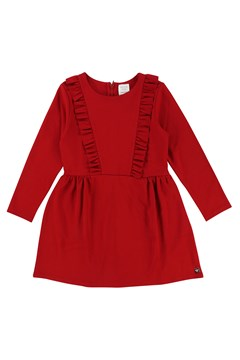Long Sleeve Dress RED 1