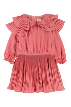 Pleat Dress PEACH 1