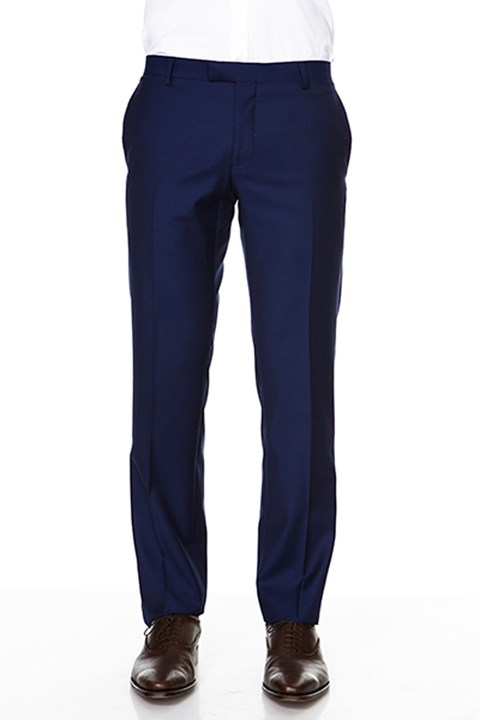 'Razor' Trouser - bright navy