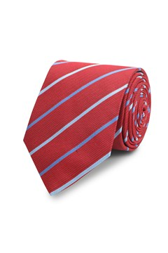 Duo Stripe 7cm Tie RED 1