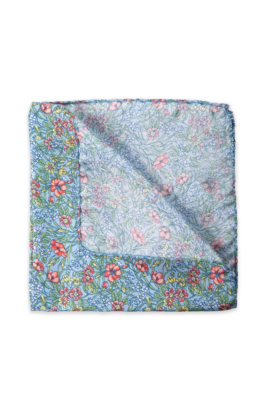 Wildflowers Pocket Square