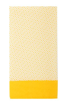 Geo Pocket Square YELLOW 1