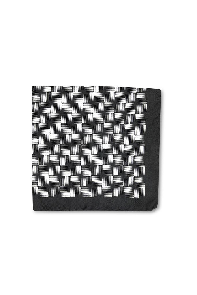 Basketweave Pocket Square