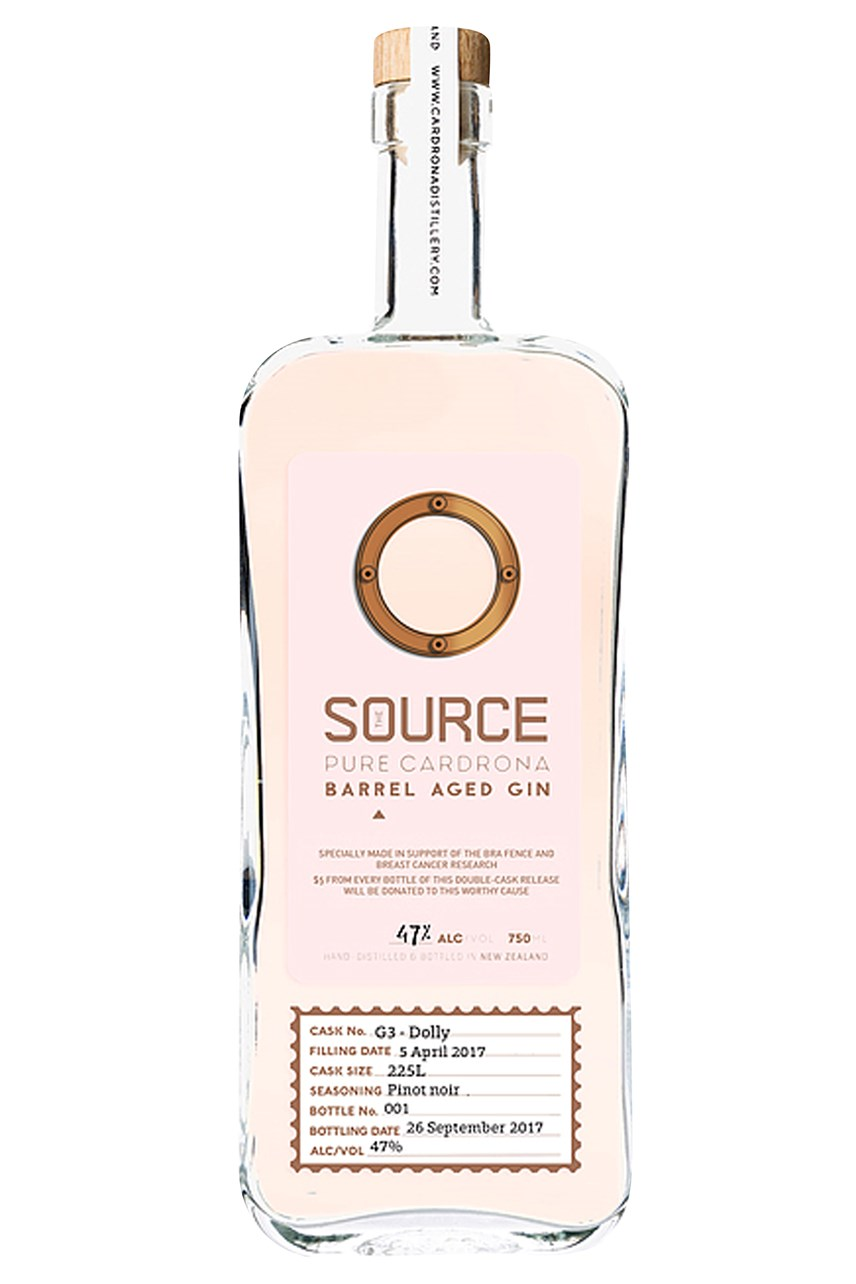 The Source Pink Barrel Aged Gin