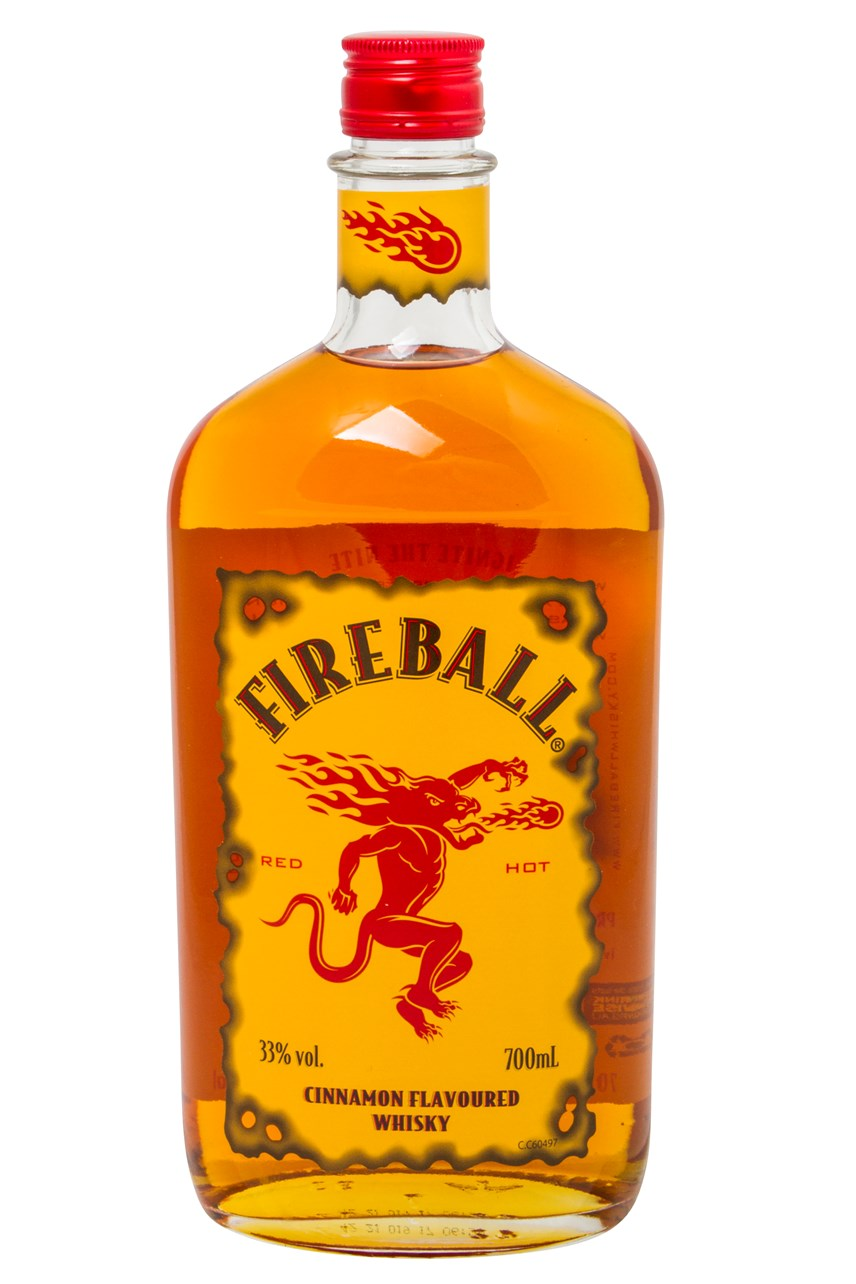 Fireball Cinnamon Flavoured Whisky